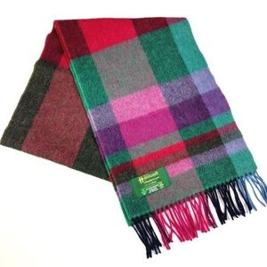 John Hanly Co LTD Lambswool Scarf for LL Bean Pink